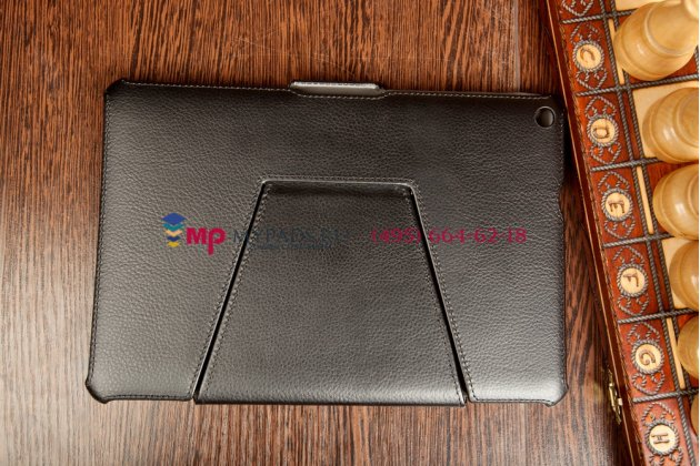"""Фирменный чехол открытого типа без рамки вокруг экрана с мульти-подставкой  для Acer Iconia Tab A3-A10/A3-A11 черный кожаный """"Deluxe"""""""
