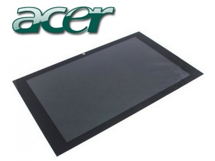 Фирменный LCD-ЖК-сенсорный дисплей-экран-стекло с тачскрином на планшет Acer Iconia Tab W500/W501 черный и инс..