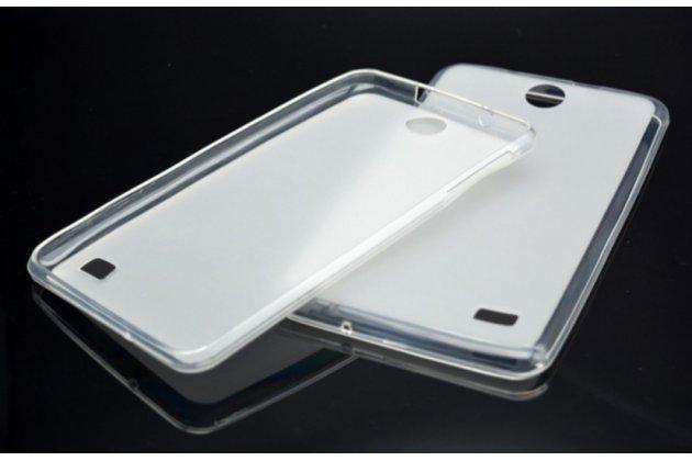 """Фирменная ультра-тонкая полимерная из мягкого качественного силикона задняя панель-чехол-накладка для планшета Acer Iconia Talk 7 B1-723 3G 7.0"""" белая"""
