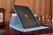 """Чехол для планшета iPad Pro 12.9"""" поворотный роторный оборотный голубой кожаный"""