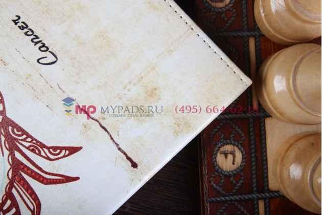 "Чехол для iPad Air 1 MD794/791/795/792785/788789796/793/987 RU/A ""тематика знаки зодиака"" винтажный белый"