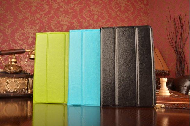 Чехол с вырезом под камеру для планшета Acer Iconia One B1-770 с дизайном Smart Cover ультратонкий и лёгкий. цвет в ассортименте