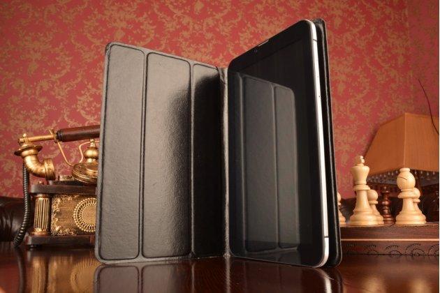Чехол с вырезом под камеру для планшета Acer Iconia Tab W3-810/W3-811 с дизайном Smart Cover ультратонкий и лёгкий. цвет в ассортименте