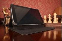Чехол-обложка для планшета Acer Iconia Tab A1-850 с регулируемой подставкой и креплением на уголки