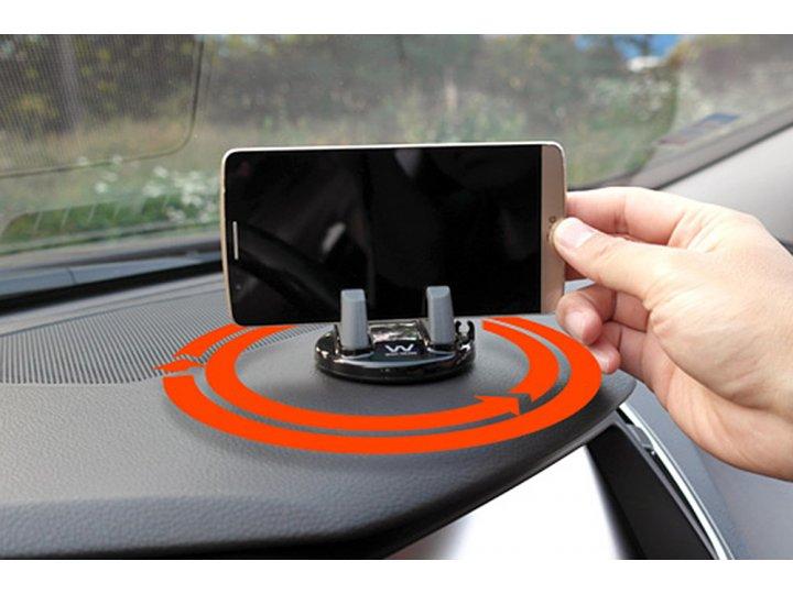 Автомобильный универсальный держатель-подставка для всех видов телефонов из качественного пластика ..