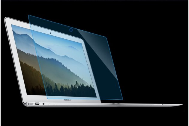 Фирменная оригинальная защитная пленка для ноутбука Apple MacBook Air 13 Early 2015 ( MJVE2 / MJVG2) 13.3 / Apple MacBook Air 13 Early 2014( MD760 / MD761) 13.3 глянцевая