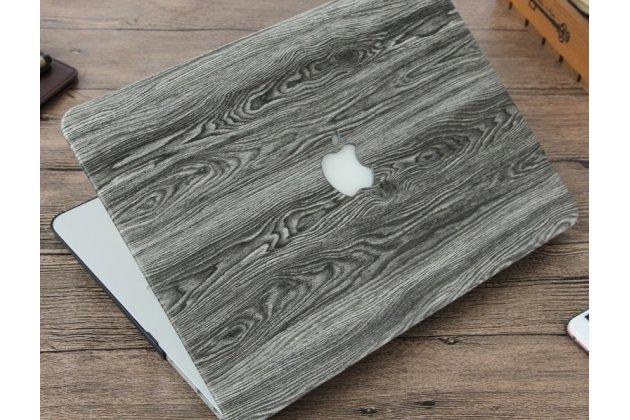 Фирменный ультра-тонкий пластиковый чехол-футляр-кейс для Apple MacBook Air 13 Early 2015 ( MJVE2 / MJVG2) 13.3 / Apple MacBook Air 13 Early 2014( MD760 / MD761) 13.3 с дизайном под дерево
