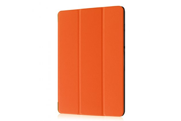 Фирменный умный чехол самый тонкий в мире для Acer Iconia Tab 10 A3-A40 2016 iL Sottile оранжевый пластиковый Италия