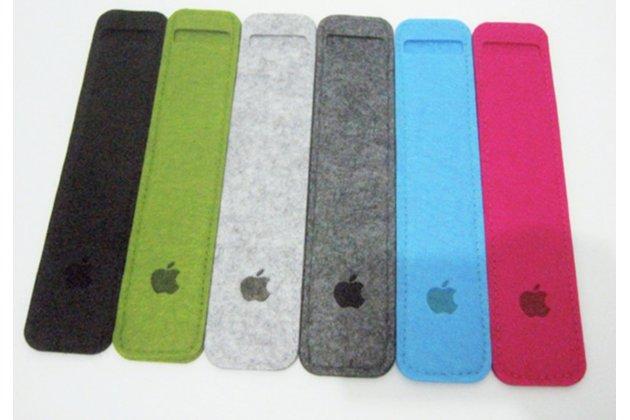 Текстильный шерстяной фетровый чехол-футляр-пенал для Apple Pencil