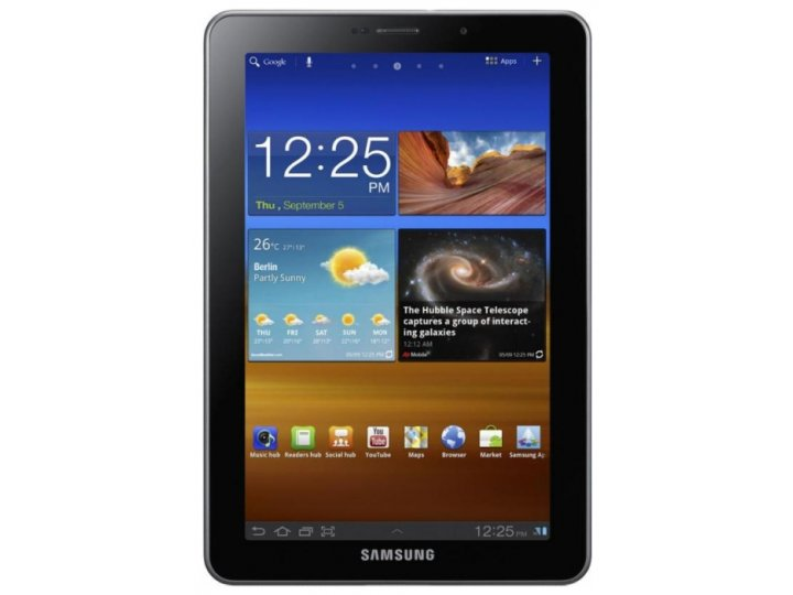 Защитная пленка для Samsung 7.7 P6800 глянцевая..